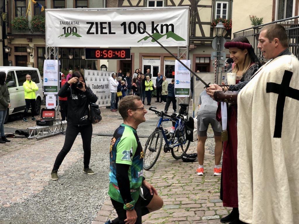 Taubertal 100 Ultramarathon Ritterschlag